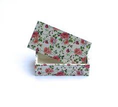 Kisten & Boxen - Kästchen,Stiftebox,Box,Rosen,Schmuckbox,Schachtel - ein Designerstück von ars-unica bei DaWanda