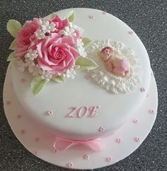 Cake Youtube, Buttercream Flowers, Cake Toppings, Girl Cakes, Baby Party, Gum Paste, Baby Shower Cakes, Let Them Eat Cake, Cake Designs
