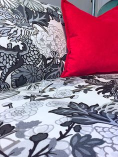#chiangmaidragon #schumacher #fabric #textile #upholstery #couch #cushions #armchair #dragon #luxurious #wallpaper #smoke