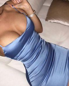 Sexy Blue Mini Short Spaghetti Strap Einfaches Partykleid, Paket Hip Abendkleid - Sexy blaue Mini Short Spaghetti Strap einfache Party Source by - Sexy Outfits, Sexy Dresses, Cute Dresses, Beautiful Dresses, Evening Dresses, Cute Outfits, Fashion Outfits, Teen Fashion, Prom Dresses