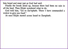 Elijah Is Fed by Ravens (Story) - Kids Korner - BibleWise