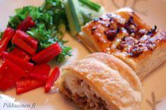 Pikkuunen: Vispipuuroa ja jauheliha-chilineliöt