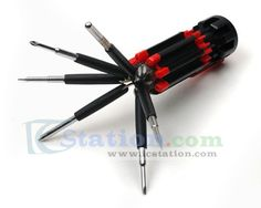 8 in 1 Multi-Screwdriver Built-in LED Light http://www.icstation.com/product_info.php?products_id=2838