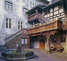 Schattenburg, Feldkirch, Vorarlberg, Austria