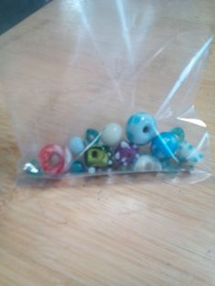 My finished beads