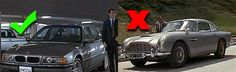 James Bond Cars You Can Afford!