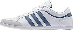 adidas Herren Unwind Turnschuhe, Blanco / Azul / Plateado (Ftwbla / Azucen / Plamat), 42 EU - http://uhr.haus/adidas/42-eu-adidas-herren-unwind-turnschuhe-negro-plomo