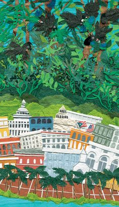 Parrots Over Puerto Rico: An Illustrated Children's Book Celebrating the Spirit of Conservation | Brain Pickings