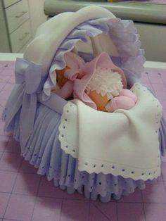 Baby Shower Cake   Stylish Eve on Facebook 2014   Baby Shower   New Mommy (cupcake ideas for baby shower)