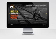 Cliente: CR Sistemas e Web | Web design: website http://www.cr.inf.br/. Desenvolvido por CR Sistemas e Web. | #webdesign #website #layout