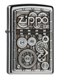 Zippo - Accendino, motivo ingranaggi EURO 34,50