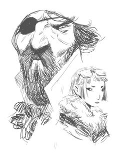 brutal moineau | some recent sketches
