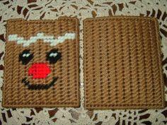 Gift Card HolderNeedlepointPlastic CanvasGingerbread Man
