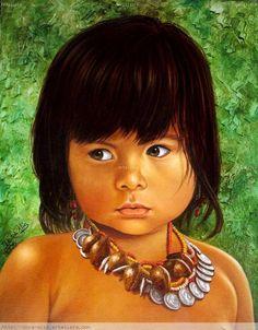 Niños indigenas mexicanos