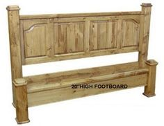 Canadian Woodcraft  - Farmhouse Bed (with low foot board), $950.00 (http://www.canadianwoodcraft.ca/bedroom/farmhouse-bed-with-low-foot-board/)