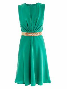 Maxmara Pianoforte Grecia dress for women Fashion Connection, Absolutely Fabulous, Max Mara, Dressing, Classy, Turquoise, Elegant, Formal Dresses, My Style