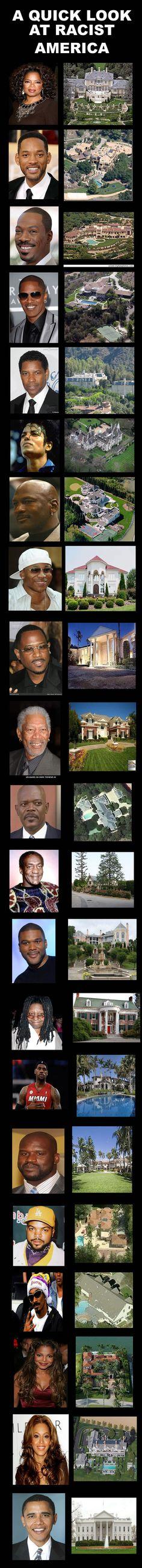 racist america, obama, oprah, michael jordan,