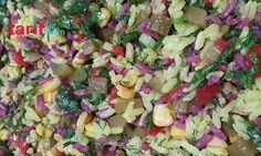 Şalgamlı-Zerdeçalli Pirinç Salatası