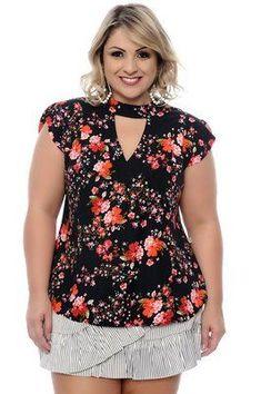 Blusa Plus Size Lourdes #plussizeclothing