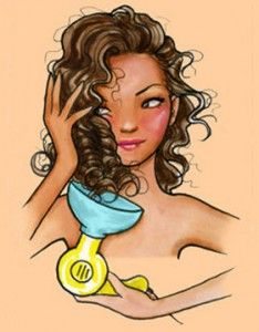 Cómo utilizar un difusor de pelo
