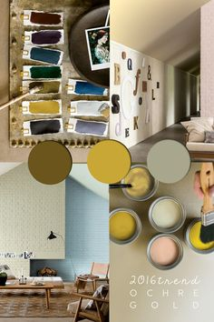 ochre color, colour ochre, colour trends, ochre color palette, colour and trends, golden ochre