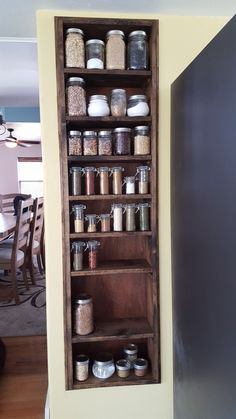 How To Build A Spice Rack Diy Spice Rack Made From An Old Laddersuper Cute Idea❤  Outfits