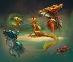 Scalefins by Wildweasel339.deviantart.com on @deviantART