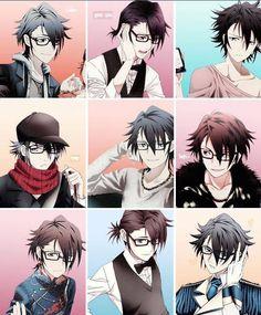 K: Project - Fushimi Saruhiko All Anime, Anime Manga, Anime Guys, Anime Art, Kk Project, Anime Glasses Boy, Missing Kings, Return Of Kings, Genesis Evangelion
