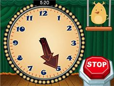 Kids must listen carefully to stop the clock once it reaches the target time.
