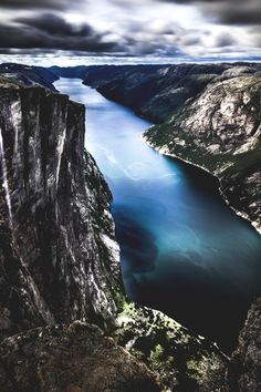 Lysefjord (from Kjerag) - Norway by Giuseppe Milo
