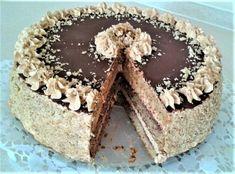 Orechovo karamelová torta, recept | Tortyodmamy.sk Krispie Treats, Rice Krispies, Tiramisu, Ethnic Recipes, Desserts, Food, Cakes, Tailgate Desserts, Deserts