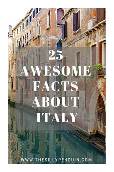 25 Interesting Facts About Italy – The Country Of Love. Interesting Facts, Fun Facts, Italy, Love, Country, Travel, Cool Facts, Amor, Trips