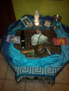 Water Altar with power of Goddesse's Brigit - Rhiannon - Abuntandia - Nemetona