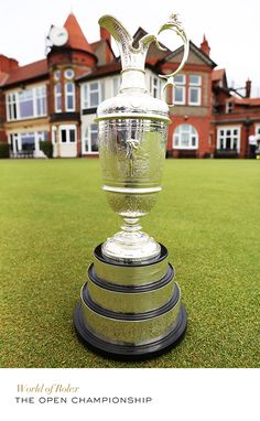 The Claret Jug - The Open Championship #Golf #RolexOfficial