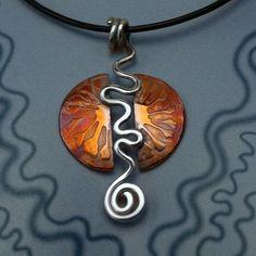 Silver Jewellery, Copper Jewelry, Silver Jewelry, Copper Pendant, Mexican Sun Pendant. on Etsy, $144.71