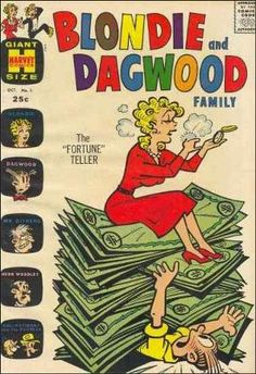 """Blondie & Dagwood Family"" ~Vol 1 #1 October, 1963"
