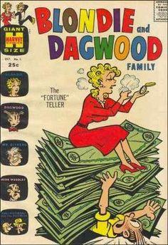 """Blondie & Dagwood Family"" ~Vol 1 #1 October, 1963"