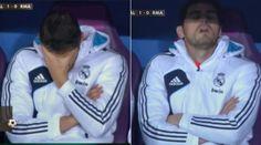 Casillas sufrió en el banquillo