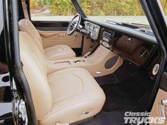 1970 c10 truck interior