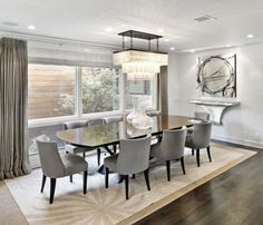 Dining Room contemporary dining room #Interiors