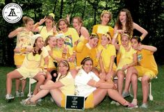 Camp Louise bunk photo 2007, during color games. #camplouise