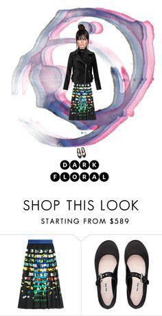 DARK FLORALS III by zazaofcanada on Polyvore featuring mode, Miss Selfridge, Mary Katrantzou, Miu Miu and darkflorals  #fashion  #fashionista  #fashionblogger  #fashionblog  #fashionable  #fashionstyle  Oroton #ootd  #ootdmagazine  #ootdshare   #style  #styles  #styleblogger  #styleblog  #streetstyle  #streetwear  #streetfashion #fashioninspo  #styleinspiration #inspo