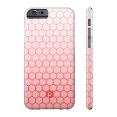Coral Honeycomb Phone Case