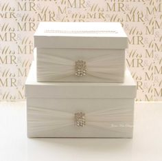 Wedding Card/ Money Box Gift Card Holder by jamiekimdesigns
