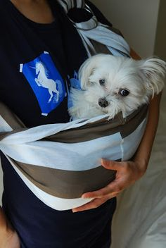 crafts:: doggie or baby sling tutorial | little projects in style