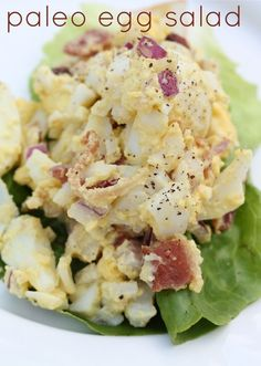 "Paleo Egg Salad Recipe Comments: ""Perfect make ahead recipe for the ..."