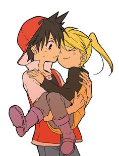 Not my ship but it's cute. I'd like to see them more with a brother-sister relationship.