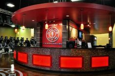 Reception Desk/Smoothie Bar - Gold's Gym Harrisburg, NC