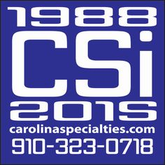 Spread the word! Visit us on our website! http://www.carolinaspecialties.com/home | LIKE us on Facebook! https://www.facebook.com/CSIPromos | Follow us on Twitter: https://twitter.com/CSIPromos | & Instagram: https://instagram.com/csipromos/
