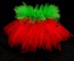 Strawberry Shortcake Tutu Great Valentine's Day by LittleTutuShop, $29.00